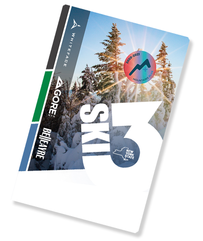 SKI3 Card Tilted with Mountains Plus