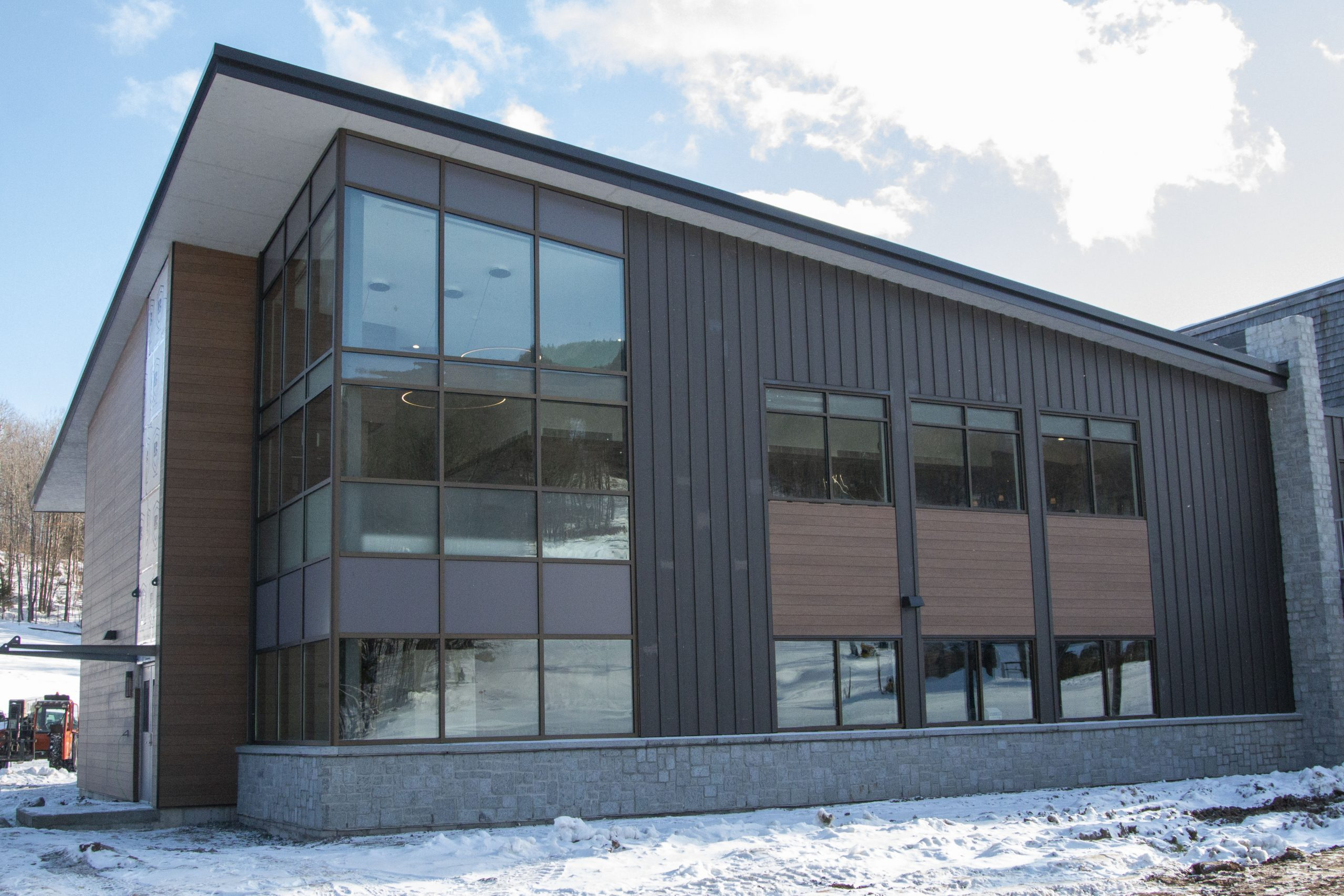 Exterior Tannery Addition