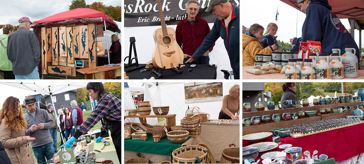 A collage of Vendors